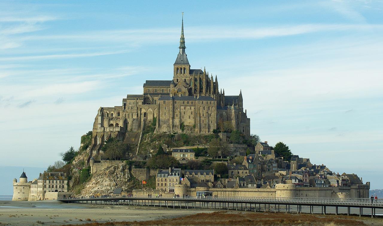Découvrir le mont saint Michel en Normandie